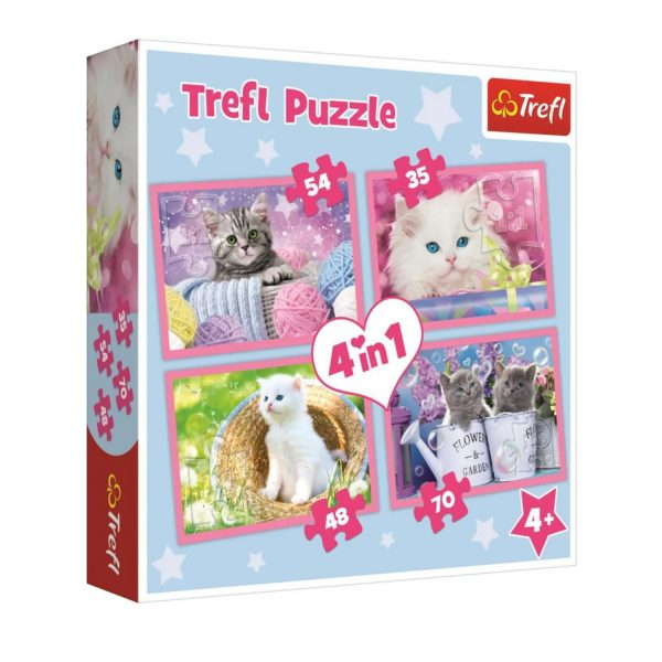 Cuy Games - INFANTIL - 4 IN 1 GATOS -