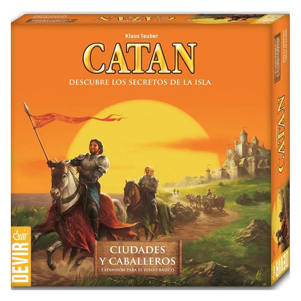 Cuy Games - CATAN CIUDADES Y CABALLEROS EXPANSION -