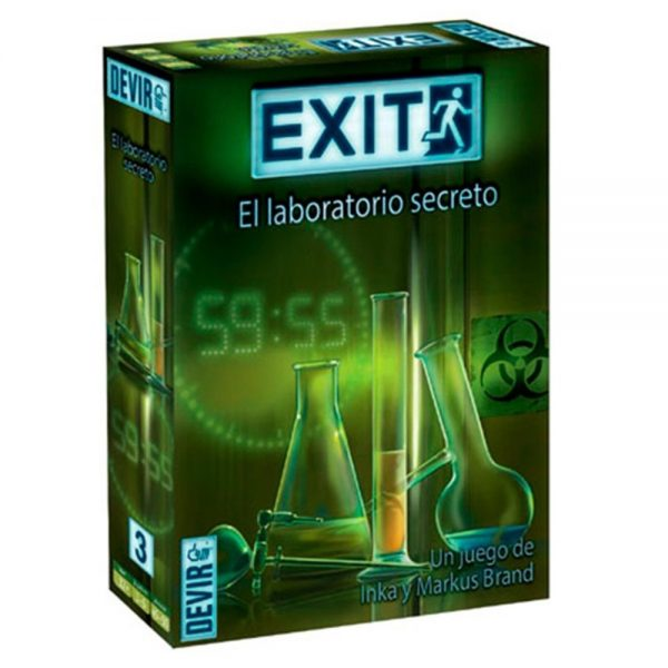 EXIT EL JUEGO – EL LABORATORIO SECRETO