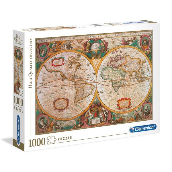 1000 PIEZAS – OLD MAPS