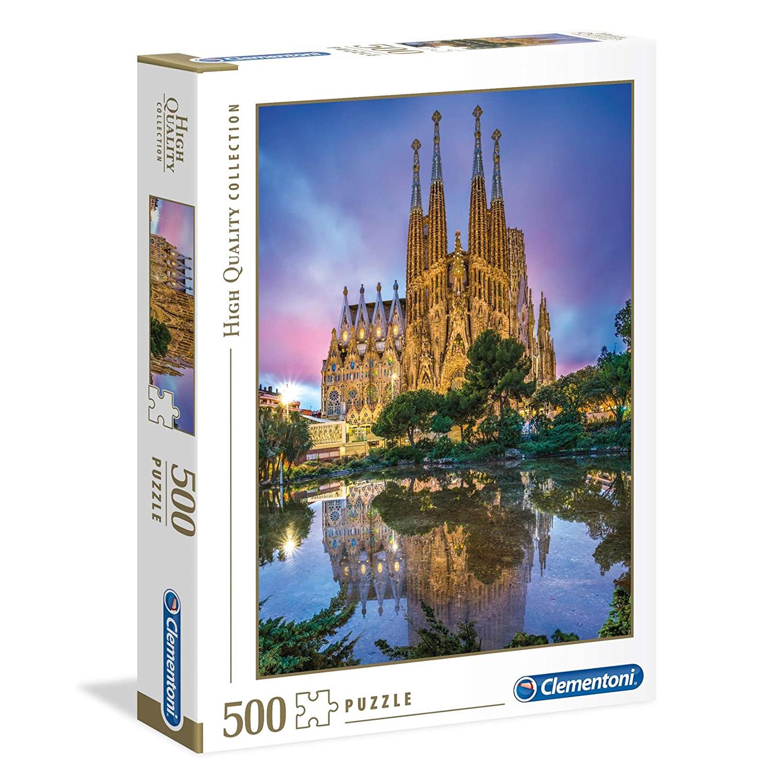 Cuy Games - 500 PIEZAS - SAGRADA FAMILIA -