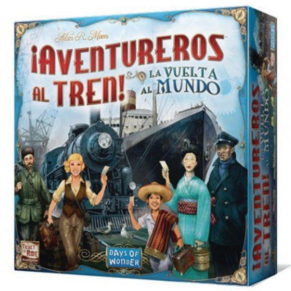 Cuy Games - AVENTUREROS AL TREN DE VUELTA AL MUNDO -
