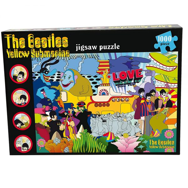 Cuy Games - 1000 PIEZAS - THE BEATLES YELLOW SUBMARINE -
