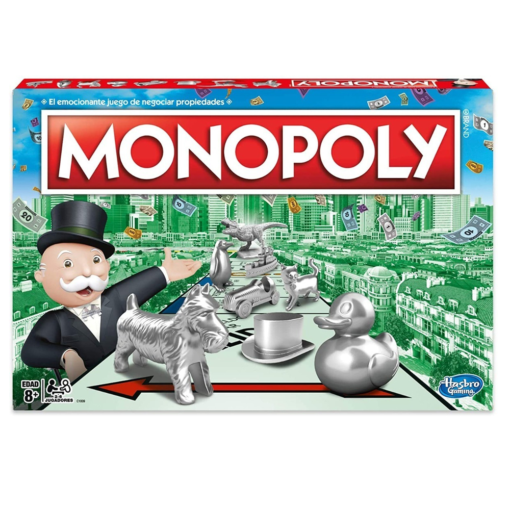Cuy Games - MONOPOLY CLASICO -