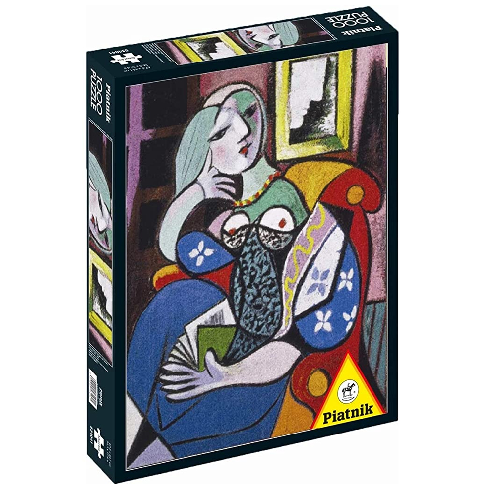 Cuy Games - 1000 PIEZAS - PICASSO, WOMAN WHIT A BOOK -