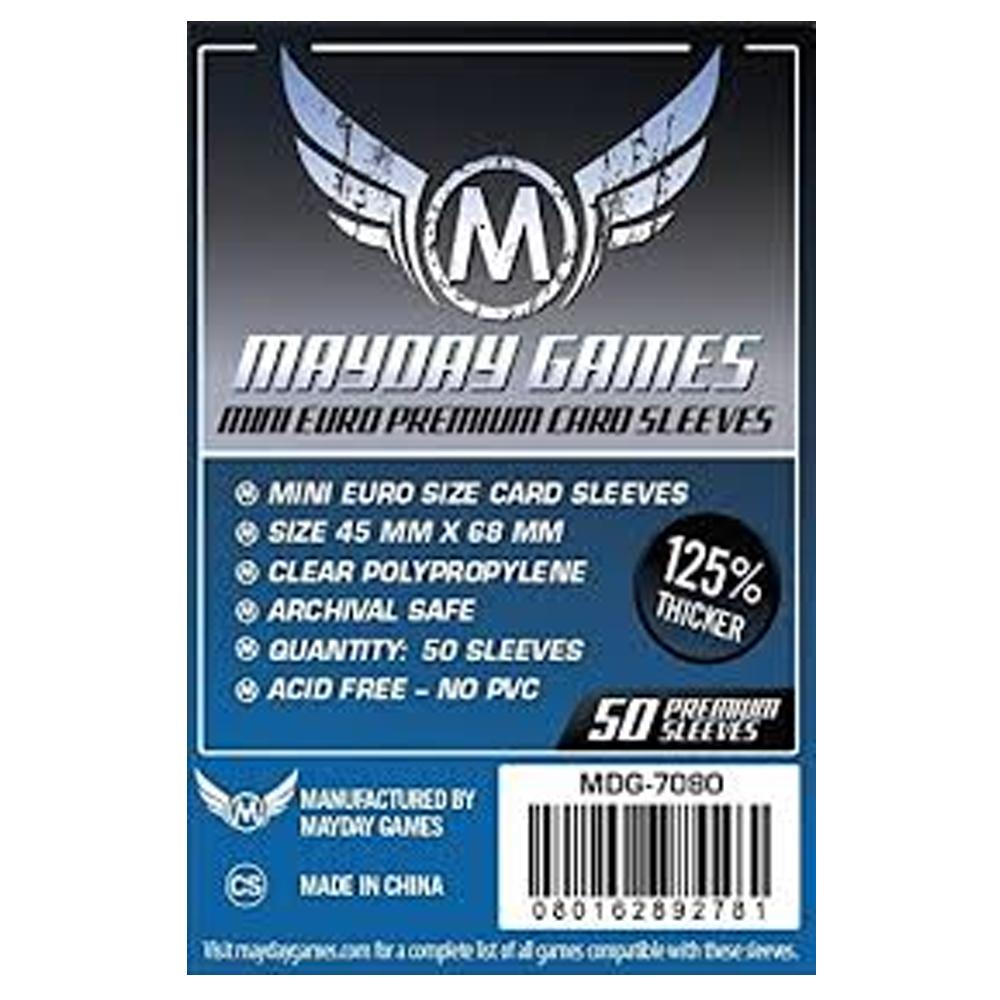 Cuy Games - FUNDA 45MMX68MM MINI EURO 50PACK -