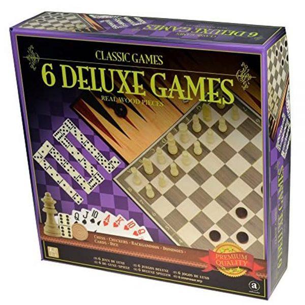 Cuy Games - 6 DELUXE GAMES - 6 JUEGOS DELUXE -