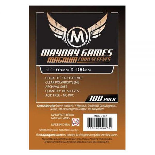Cuy Games - FUNDA 65MMX100MM 100PACK -