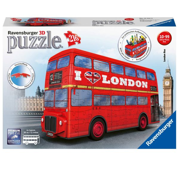 216 PIEZAS – LONDON BUS