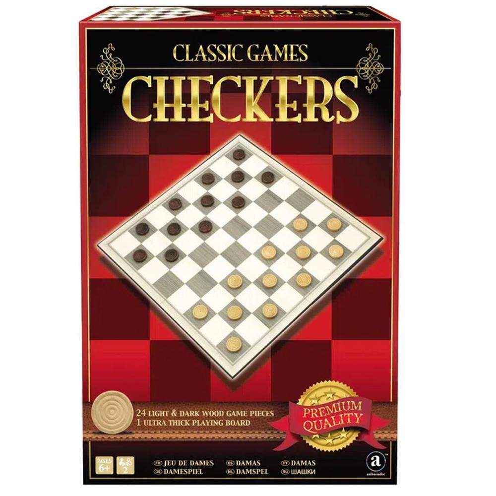 Cuy Games - CHECKERS - DAMAS -