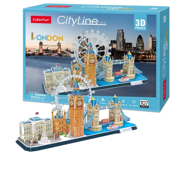Cuy Games - CF - 107 PIEZAS - LONDON 3D (CITYLINE) -