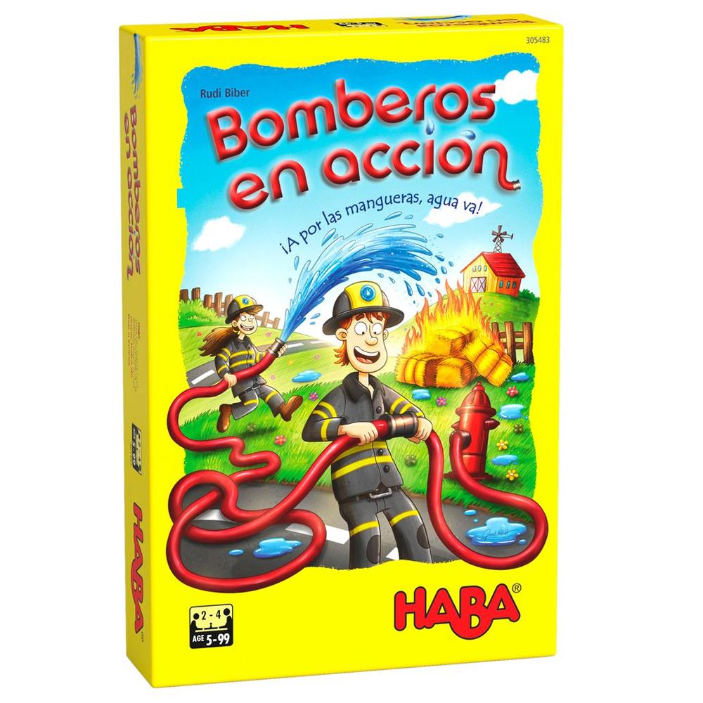Cuy Games - BOMBEROS EN ACCION -