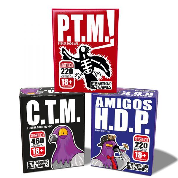 Pack Papalomo | P.T.M. + H.D.P. + C.T.M.