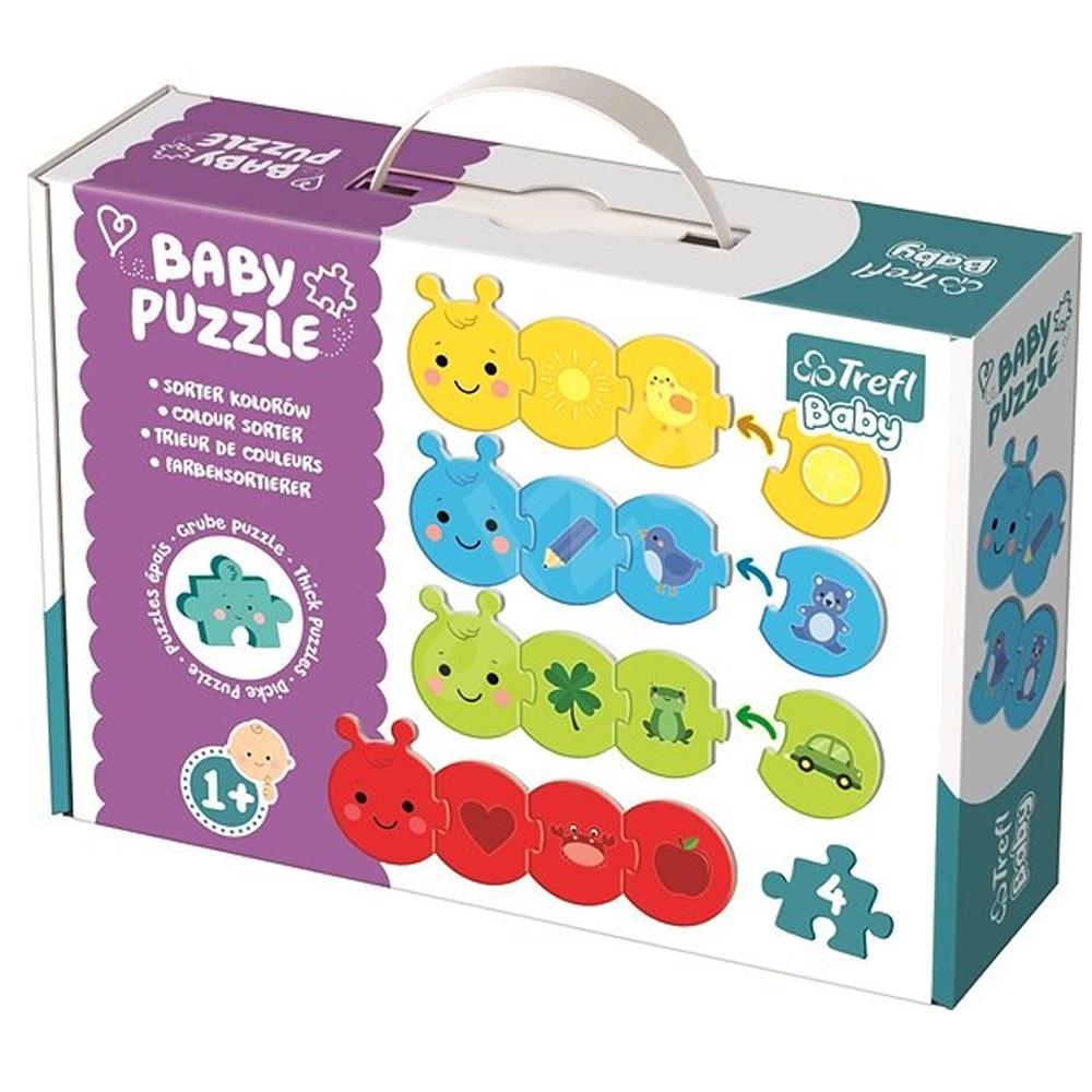 Cuy Games - INFANTIL - BABY PUZZLE - SEPARADOR DE COLORES -