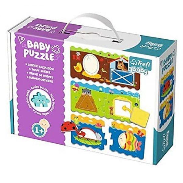 Cuy Games - INFANTIL - BABY PUZZLE - SEPARADOR DE FORMAS -