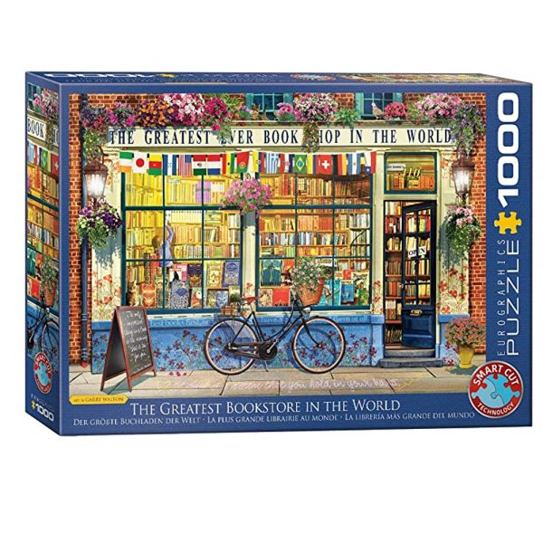 Cuy Games - 1000 PIEZAS - THE GREATEST BOOKSTORE IN THE WORLD -