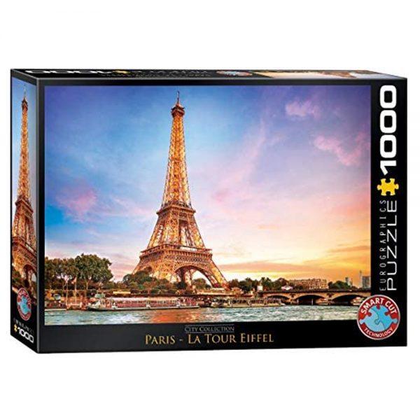 1000 PIEZAS – CITY COLLECTION – PARIS