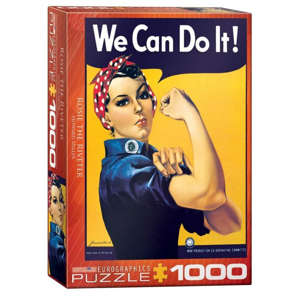 Cuy Games - 1000 PIEZAS - ROSIE THE RIVETER BY HOWARD MILLER -