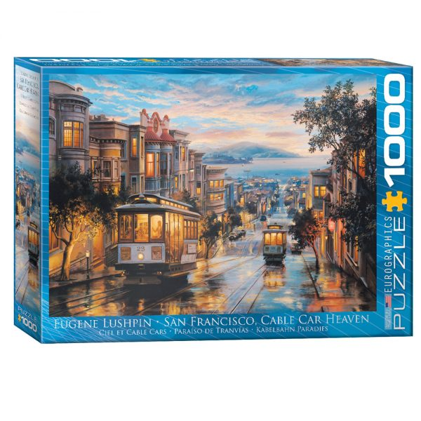 Cuy Games - 1000 PIEZAS - SAN FRANCISCO, CABLE CAR HEAVEN BY EUGENE LUSHPIN -