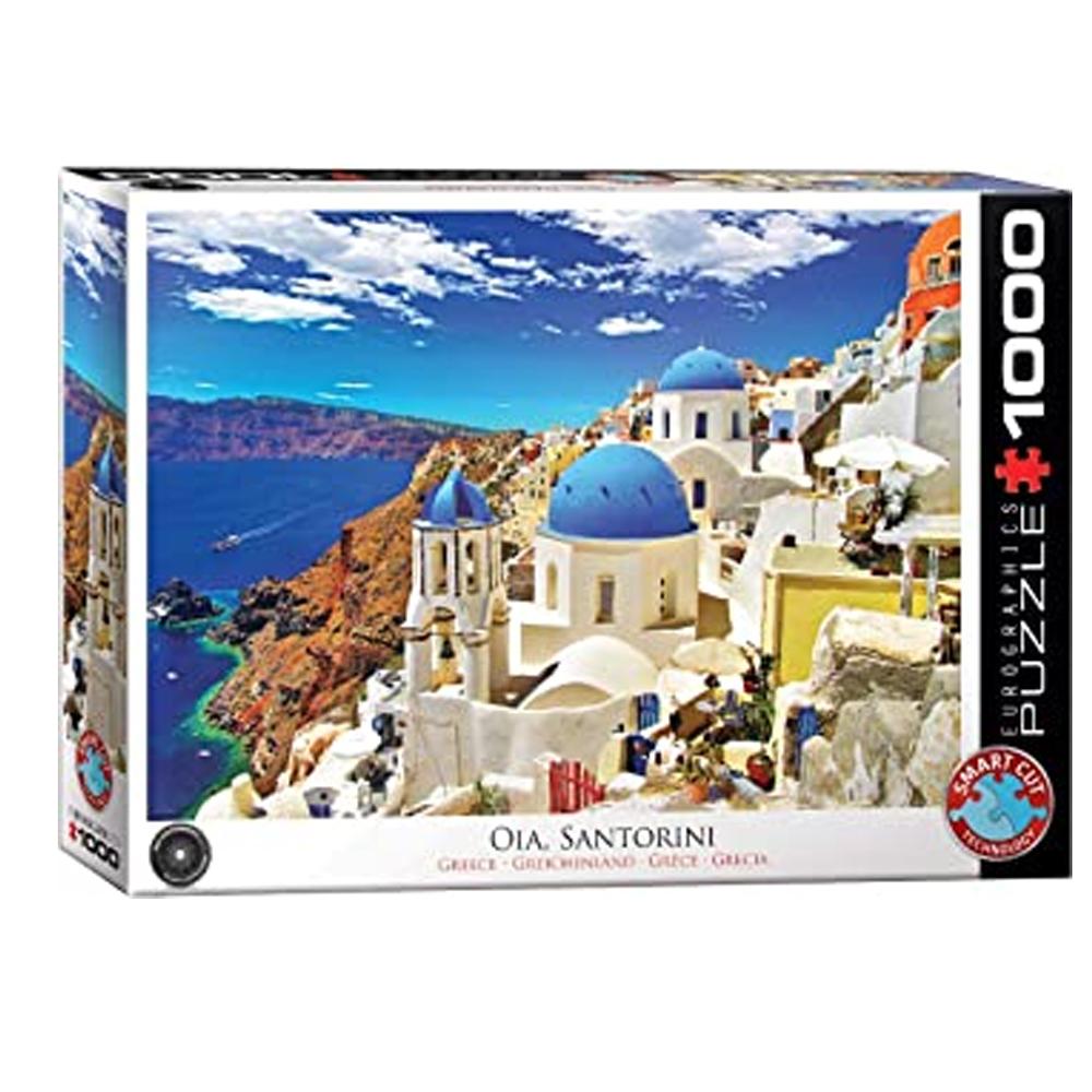 Cuy Games - 1000 PIEZAS - SANTORINI GREECE ISLAND VIEW -