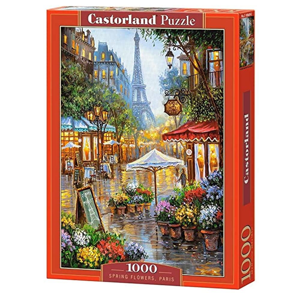 Cuy Games - 1000 PIEZAS - SPRING FLOWERS, PARIS -