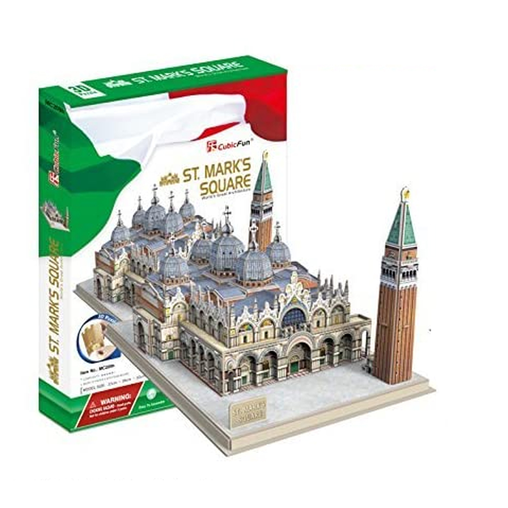 Cuy Games - CF - 107 PIEZAS - ST. MARKS SQUARE -