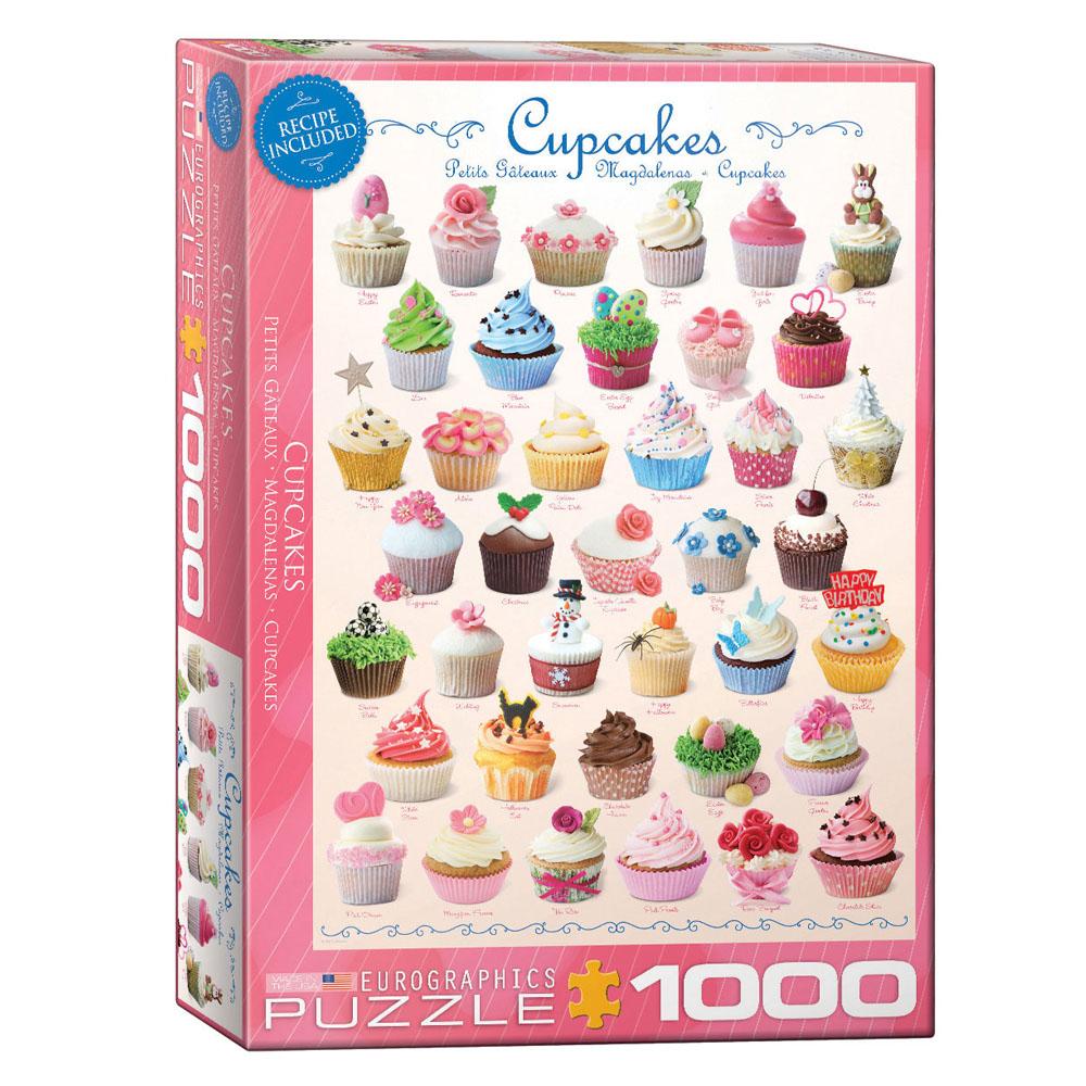 Cuy Games - 1000 PIEZAS - SWEET - CUPCAKES -