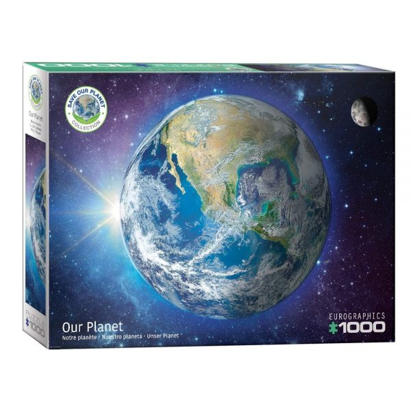 Cuy Games - 1000 PIEZAS - SAVE OUR PLANET! THE EARTH -
