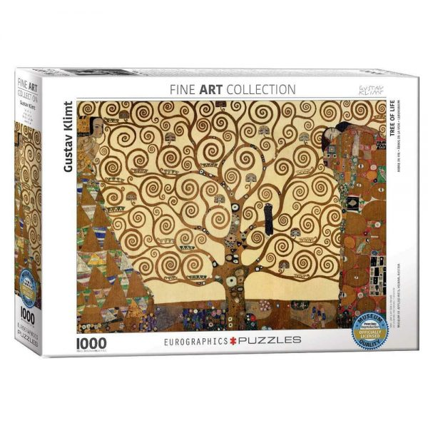 1000 PIEZAS – TREE OF LIFE BY GUSTAV KLIMT