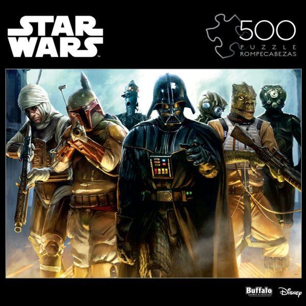 Cuy Games - 500 PIEZAS - STAR WARS, TEAM DARK VADER -