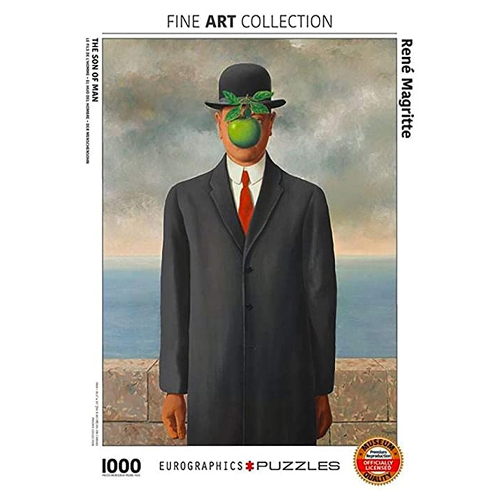 Cuy Games - 1000 PIEZAS - Son of Man by Rene Magritte -