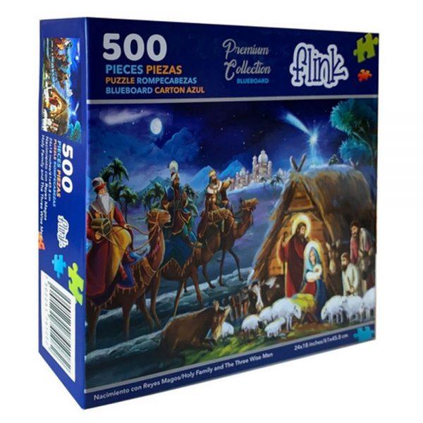 Cuy Games - 500 PIEZAS - NACIMIENTO CON REYES MAGOS -