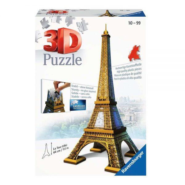 224 PIEZAS – TORRE EIFFEL 3D