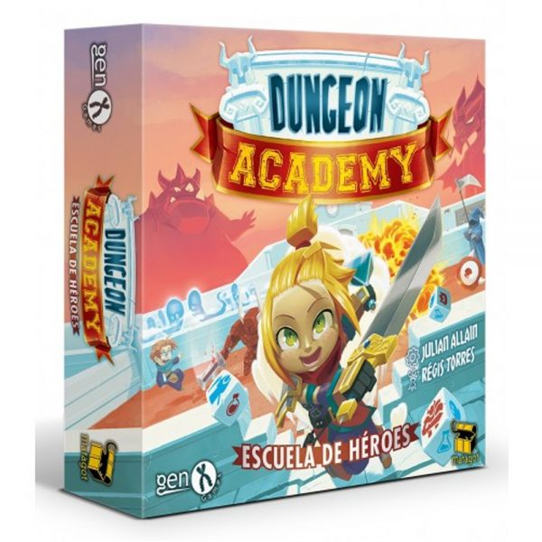 Cuy Games - DUNGEON ACADEMY -