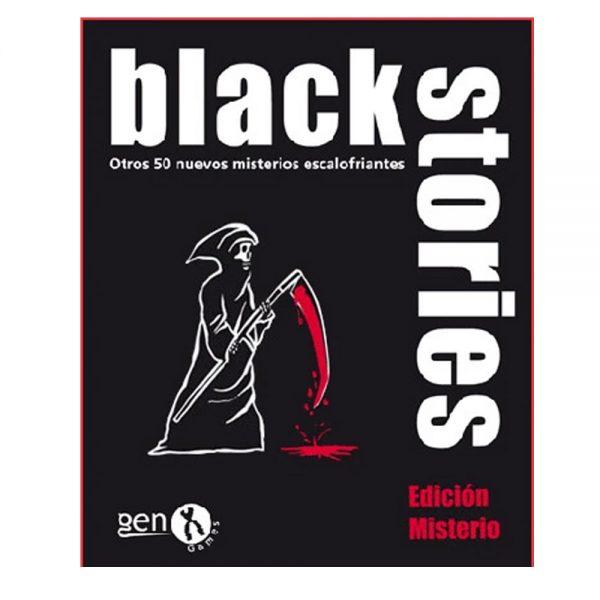 Cuy Games - BLACK STORIES - EDICION MISTERIO -
