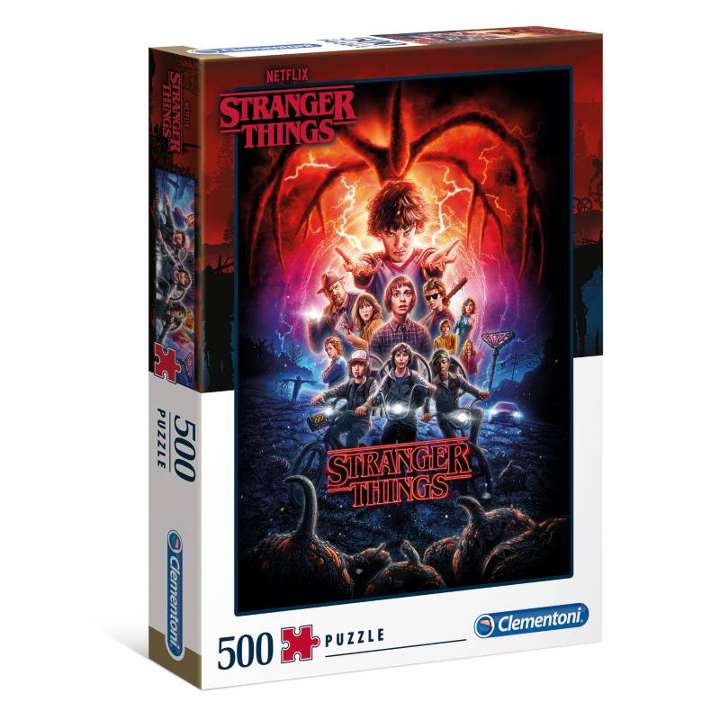 Cuy Games - 500 PIEZAS - STRANGER THINGS -