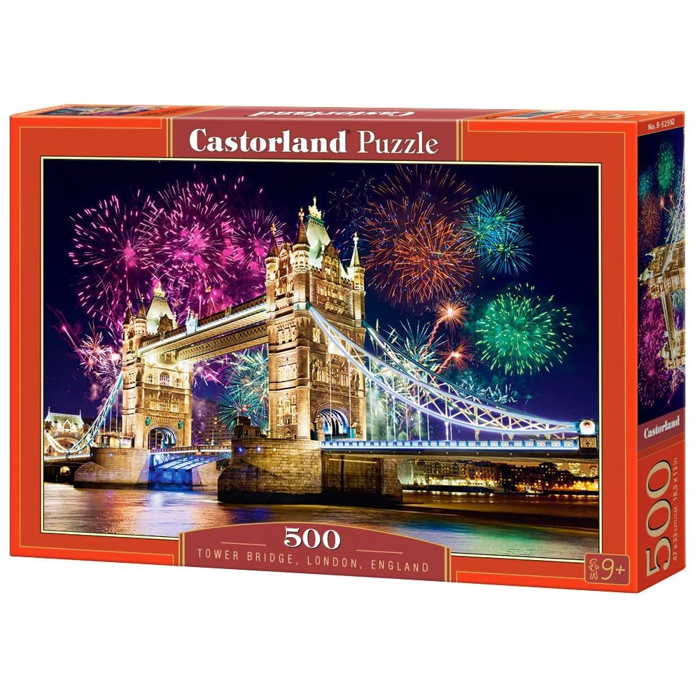 Cuy Games - 500 PIEZAS - TOWER BRIDGE, LONDON, ENGLAND -