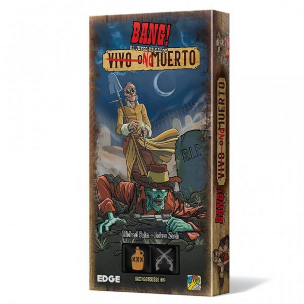 Cuy Games - BANG! EL JUEGO DE DADOS NO MUERTO -