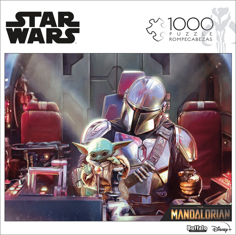 Cuy Games - 1000 PIEZAS - MANDO AND GROGU - STAR WARS -