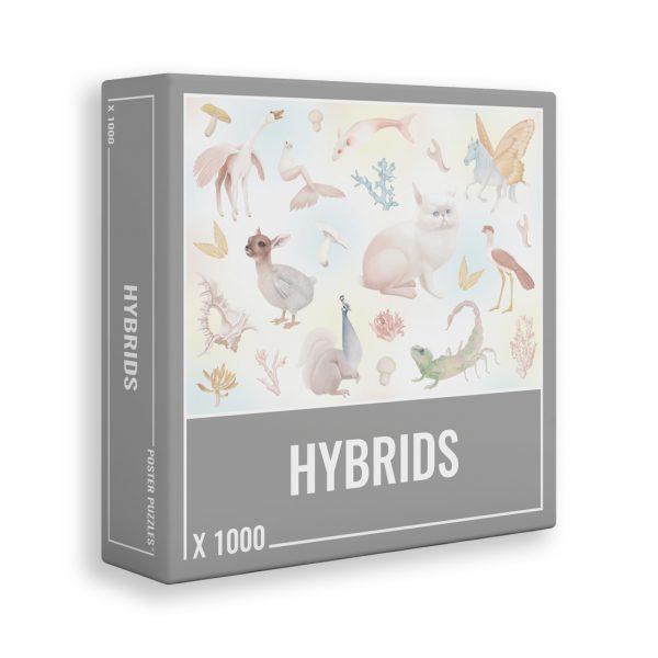 1000 PIEZAS – HYBRIDS
