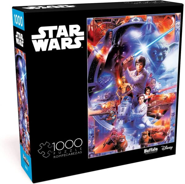 Cuy Games - 1000 PIEZAS - STAR WARS MOST IMPRESSIVE -