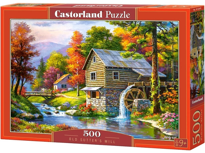 Cuy Games - 500 PIEZAS - OLD SUTTERS MILL -
