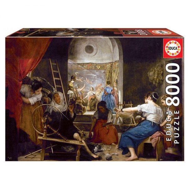 8000 PIEZAS –  LAS HILANDERAS