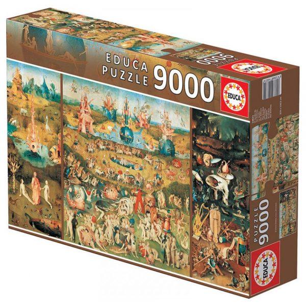 9000 PIEZAS –  JARDIN DE LAS DE DELICIAS