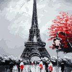 Cuy Games - CUADRO PINTURA AL OLEO - PARIS VINTAGE 40X50 -